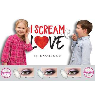 Softlens i scream love