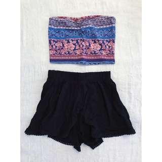 Top and Shorts -BUNDLE 14