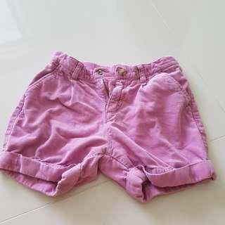 Uniqlo Gals Shorts w Pockets n Adjustable Waist Strap