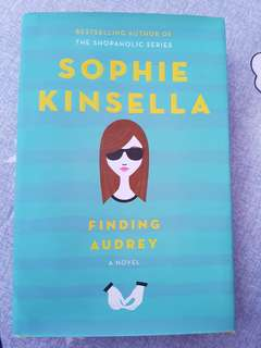 Finding Audrey by Sophie Kinsella (Hardbook cover)