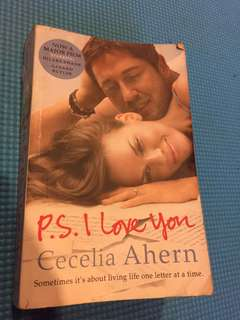 P.S. I love you BOOK by Cecelia Ahern