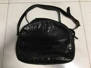 Crocodile skin bag, Genuine