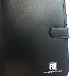 Black notebook cover