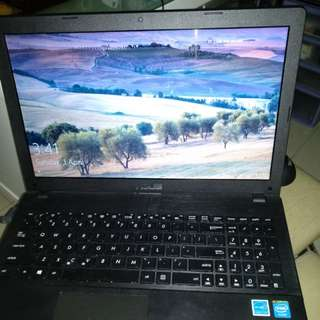 """ASUS Notebook X551M 15.6"""" Mint Condition Lady User"""