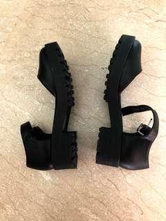 River Island chunky heels