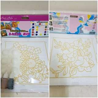 Batik painting kit (2 in 1 pack)