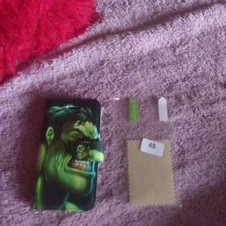 Hulk IPhone 4s wallet cover +