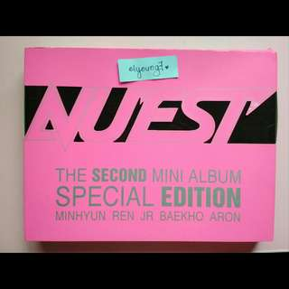 NU'EST The Second Mini Album Special Edition (Photobook and DVD only)