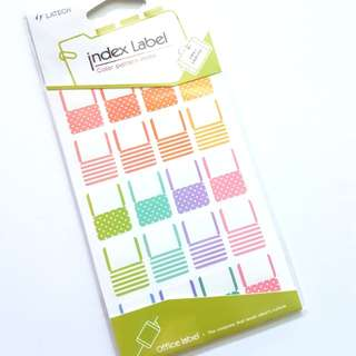 Index stickers/Page flags
