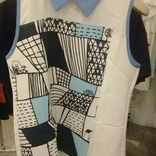 Plains and Prints Palermo Top