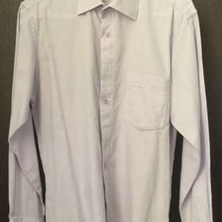 Men's Long Sleeve Dress Shirt Medium