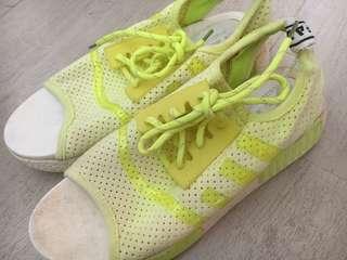 Neon Green Fashion Sandals