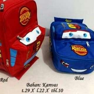 Tas Ransel anak mobil