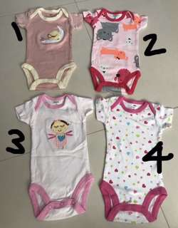 Infant Baby Girl Rompers/ Clothes Newborn (Preloved)