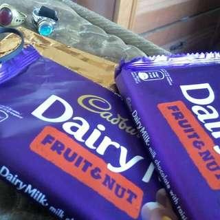 Cadbury Chocolates of every flavours