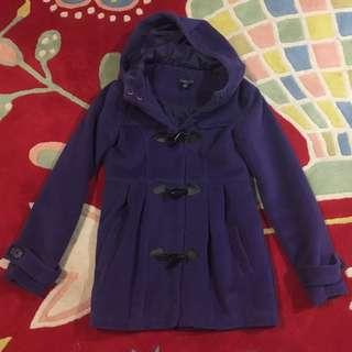 Girls Purple Coat Size 10
