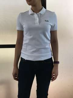 Lacoste Women's Collab slim fit polo