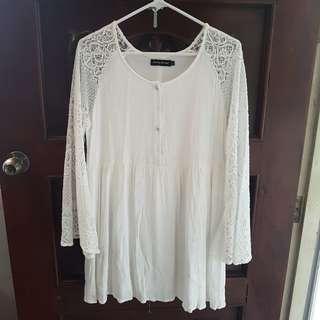 Something Borrowed | White Dress (Large)