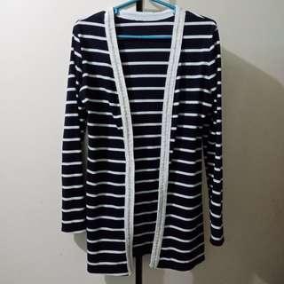 Cardigan Striped Jacket