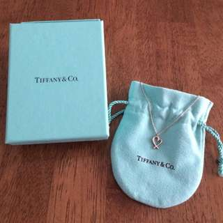 Tiffany & Co Mini Loving Hearts Necklace