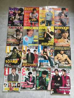 Jay Chou Magazines Collection