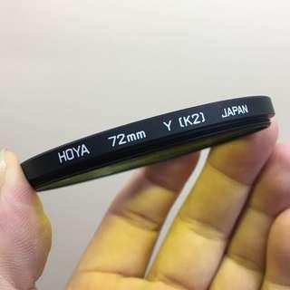 Hoya 72mmYellow Y K2 filter