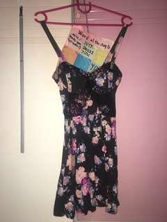Topshop Petite Floral Dress