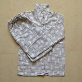 YD Grey Pyjamas