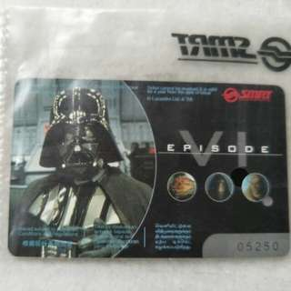 Return of the Jedi mrt card