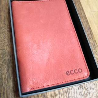 Ecco Leather notebook
