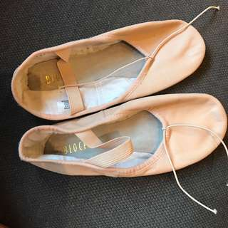 Ballet shoes - almost brand new