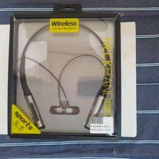🚚 全新 頸掛式 運動 藍芽耳機 藍芽v4.2 黑色