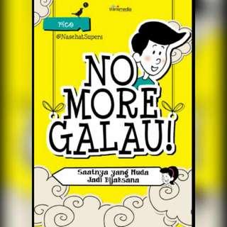 Ebook No More Galau