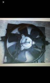 2004 To 2008 Nissan Sunny Front Radiator Fan & Motor