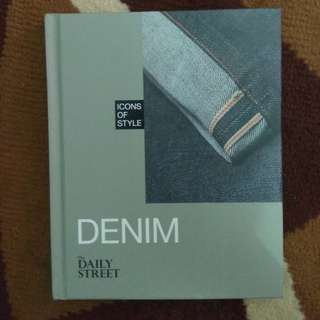 "Denim book ""Icons of Style"" series"