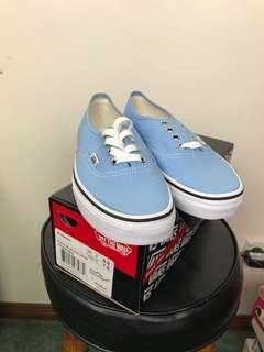 Blue Vans Size 7.5