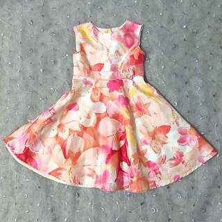 Brooke Lindsay Floral Dress
