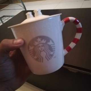 Starbucks Christmas 2016 Candy and Polarbear Mug