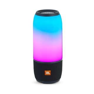 [BNIB AUTHENTIC] JBL Pulse 3 (Black) Waterproof Bluetooth Speaker with 360° Lightshow