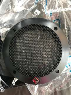 Rockford Fosgate 4inch Speaker cover and wire