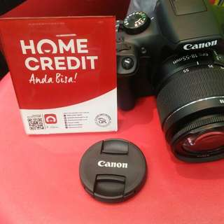 Canon 1300D Lengkap Promo Credit Kilat 3menit bawa barang