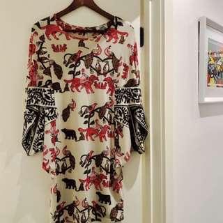 VINTAGE HERMES DRESS AUTHENTIC
