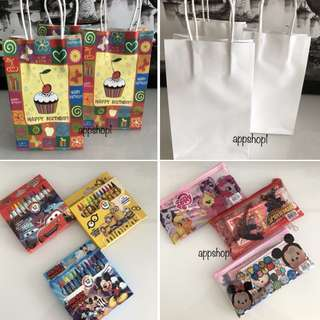 Children party goodies bag, goody bag gift