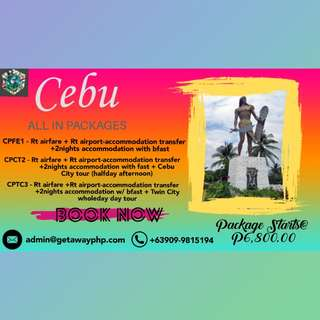 FREE QUOTE ALL IN CEBU PACKAGES