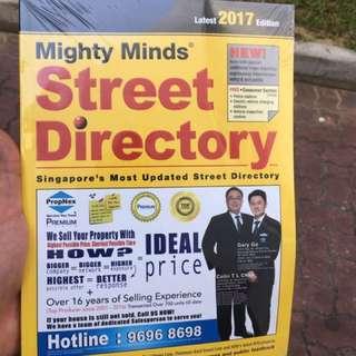 2017 street directory unopened