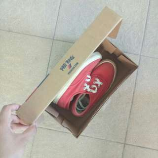 Red Pro Keds (Size 5)
