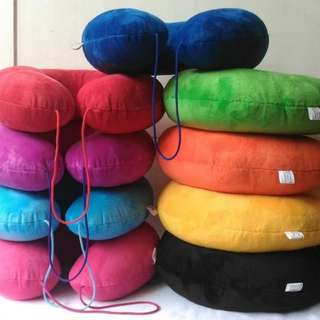 Tavel pillow/bantal yelvo isi dakron/bantal leher