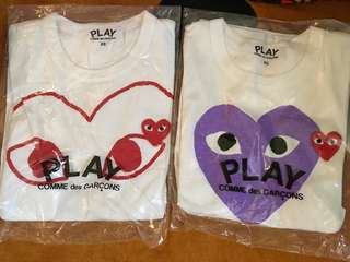 COMME des GARCONS PLAY T-shirt 日本製