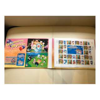 Collectable Post Stamp (New) 郵票(新) - Doraemon 哆啦A夢(叮噹)35 Years Special Edition Collection