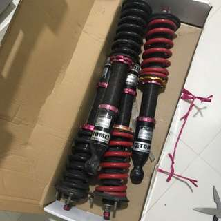 Tomei Coilover (Toyota Mark X, IS250)